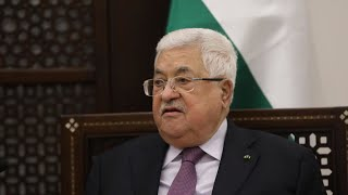 Palestinian leader Mahmoud Abbas suspends relations with the US, Israel