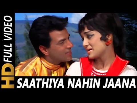 Saathiya Nahi Jaana Ke Jee Na Lage | Lata...