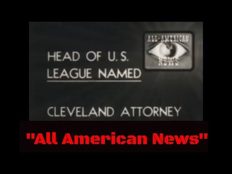 "RARE AFRICAN AMERICAN WORLD WAR II NEWSREEL  ""ALL AMERICAN NEWS""  56434"