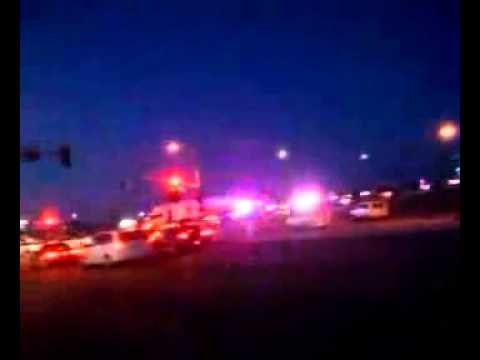 Cop Causes Car Accident