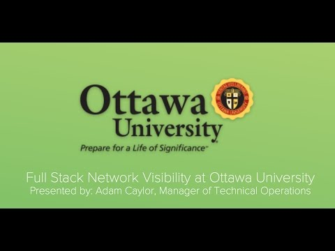 Full Stack Network Visibility at Ottawa University