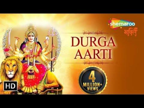 Durga Aarti - Durge Durgat Bhari with English & Hindi Subtitles | Bhakti Songs