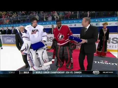 Subban & Gibson's best saves at USA-Canada WJC 12/30/12