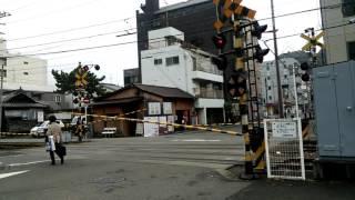 モハ50系鉄砲町駅到着