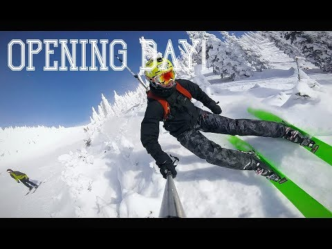 OPENING DAY! |2018| Whitefish Mountain Resort