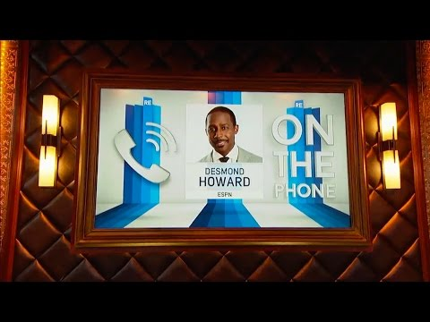Desmond Howard of ESPN NCAA Football & More - 10/12/15