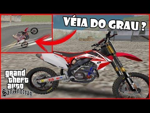(GTA SA) Trilha De Crf 450 E Velha Do Grau ?