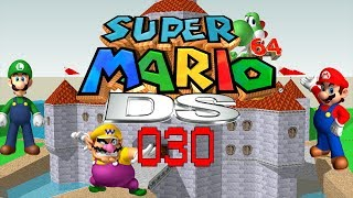 Let's Play Super Mario 64 DS [Half-Blind] 30 - Wobiwaba Wüste