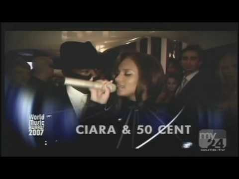 Ciara and 50 Cent -  Can't Leave 'Em Alone (music awords 2007)