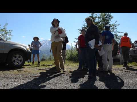 International geologists study Mount St. Helens with USGS
