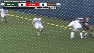 Piranha Soccer Finale championnat RSEQ 2016 - UQAC