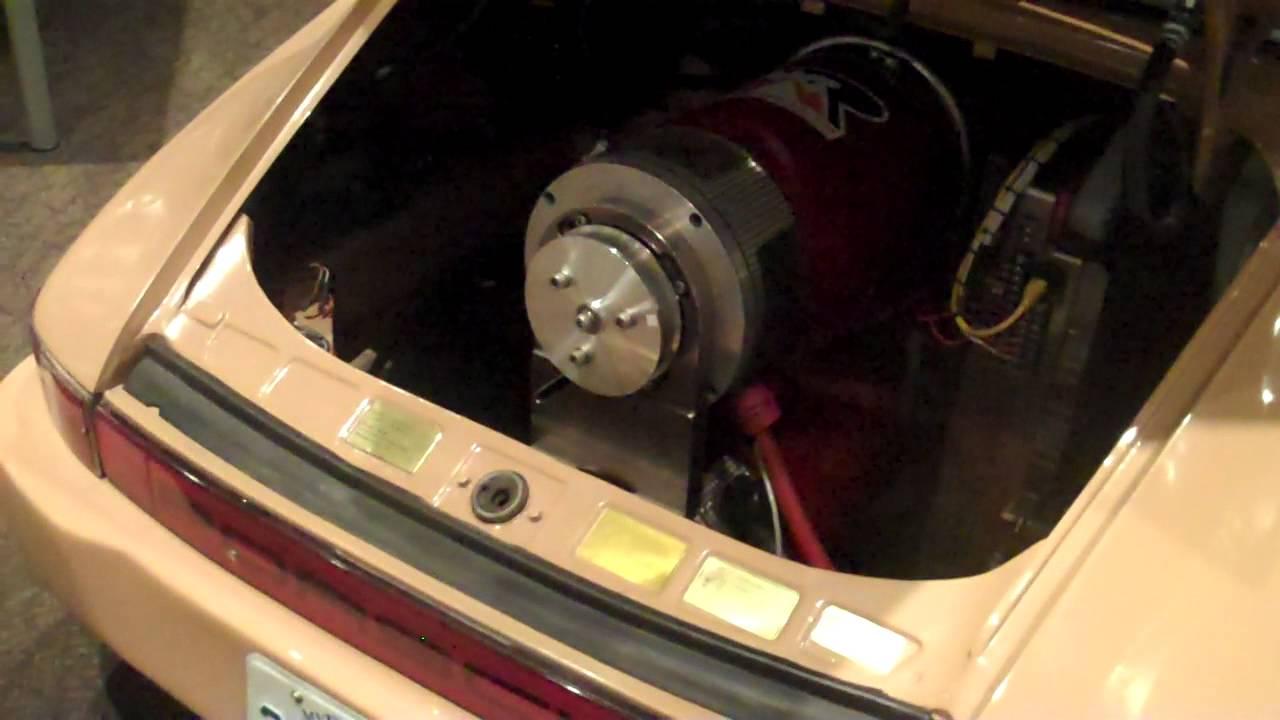 400 HP Porsche full electric conversion WMNF News YouTube