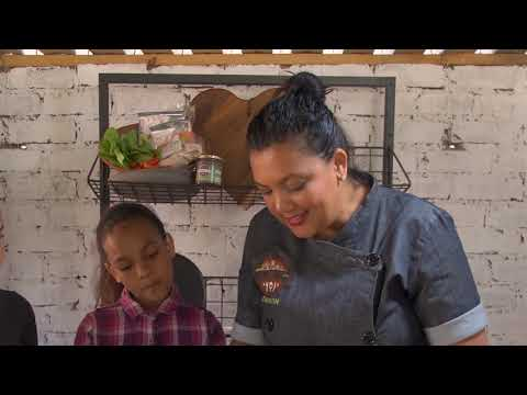 Fun cooking with Chef Cherron Harry and her kids