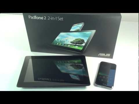 Asus Padfone 2 Smartphone Hands-On