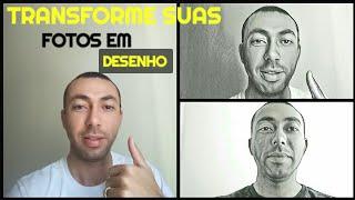 TRANSFORME SUAS FOTOS EM DESENHO