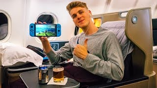 WE GOT A BUSINESS CLASS UPGRADE?!? (JAPAN VLOG)