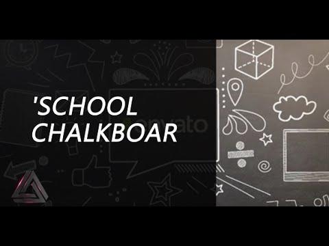 School Chalkboard | After Effects Template | Openers