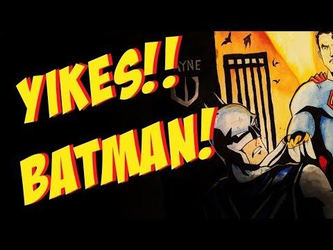 Batman VS. Superman! Art Timelapse! #batman #superman