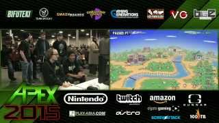 Apex 2015 - SSB4 - SS Mr. E (Marth) vs MVG Mew2King (Diddy Kong)