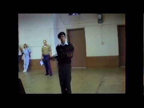 Colorado State Drill Meet - Eloy Lopez - One Man Exhibition - 15 May 1993