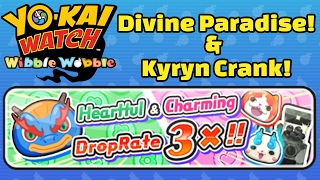 Yo-kai Watch Wibble Wobble - Divine Paradise and Kyryn Crank-a-Kai Event!