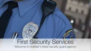 Hollister Security Guards | Private Business & Residential Security Service