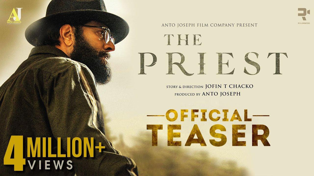 The Priest | Official Teaser | Mammootty | Manju Warrier | Jofin T Chacko |  Nikhila Vimal - YouTube