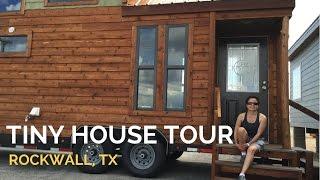 Estilo De Vida Minimalista - Tiny House Tour En Cabin Supercenter, Rockwall, Tx