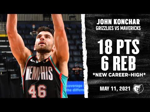 John Konchar *CAREER-HIGH* on Record +/- Rating vs Dallas Mavericks Highlights | NBA Season 2020-21