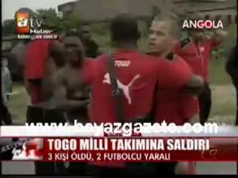 Togo Milli Takımına Saldırı!