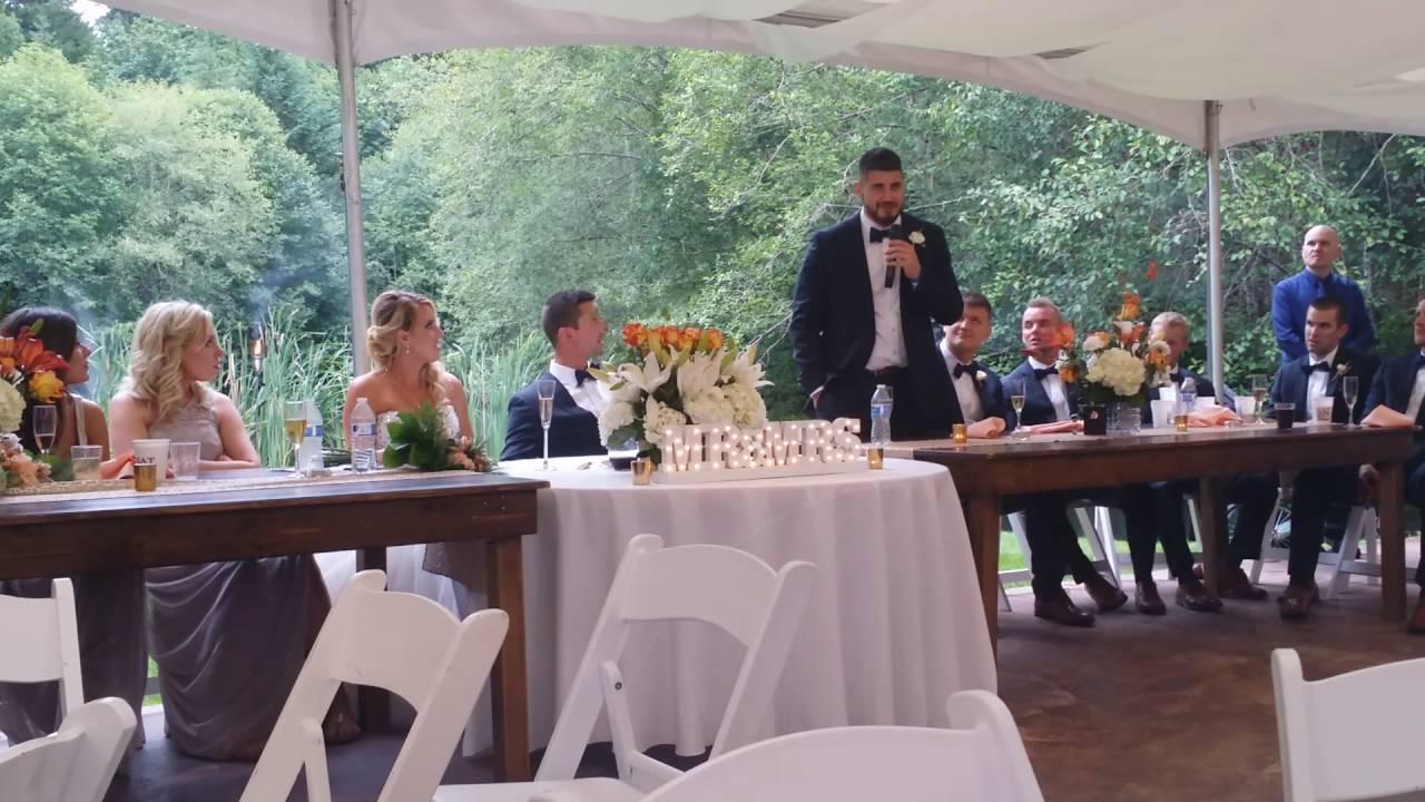 Wedding Officiant Speech Ideas: Best Man, Officiant, Little Brother Wedding Speech