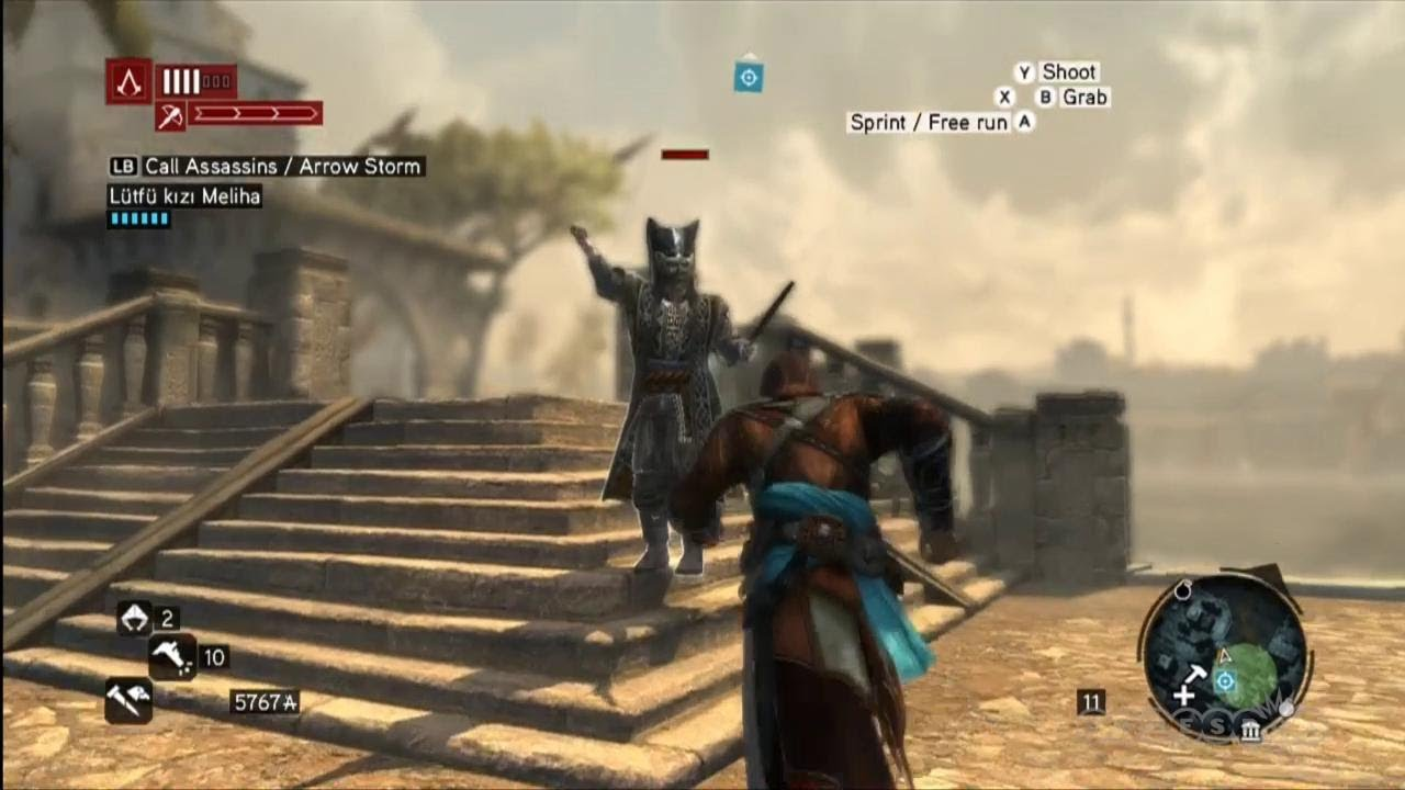 Stabbing The Stabber Gameplay Assassin S Creed Revelations