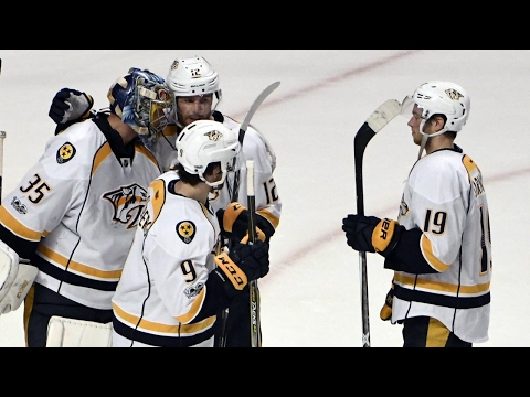 Predators crush Blackhawks, shut them out again for 2-0 series lead