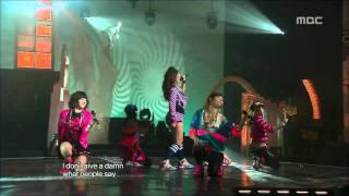 After School - Diva, 애프터스쿨 - 디바, Music Core 20090411
