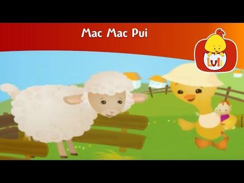 Mac Mac la fermă - Desene animate pentru copii