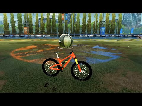 Bicycle Does Bicycle Kick Goal in Rocket League thumbnail