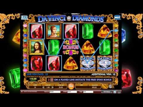 Da Vinci Diamonds Slot Review IGT Slot