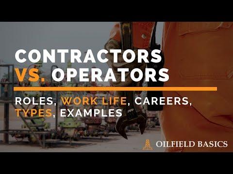 Contractors v. Operators