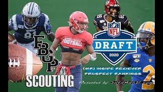 Football Gameplan's 2020 NFL Draft Prospect Rankings: (WR) Inside Receivers