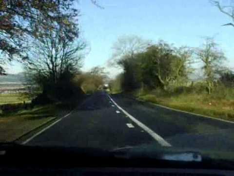 M6 / M74 Entering Scotland