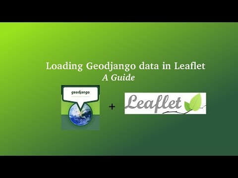 Display data using leaflet and GeoDjango Tutorial