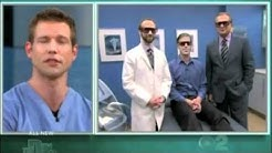 The Doctors - Laser Hair Removal on Man's Beard    Long Beach Facial Plastic Surgeon