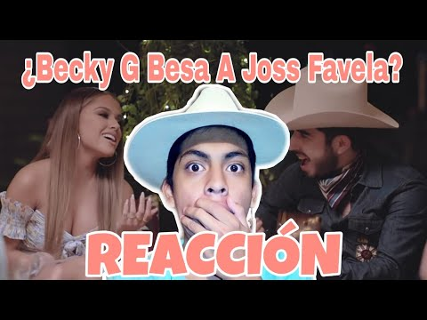 Joss Favela, Becky G – Pienso En Ti (VIDEO REACCIÓN)