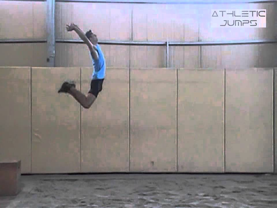 Long jump - Hang style - Drill 9