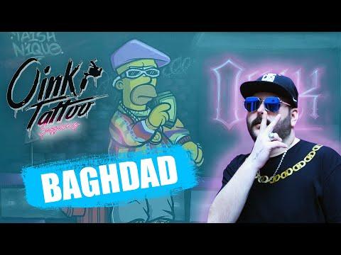 BAGHDAD (ΠΡΙΝ ΤΟ CALIENTE) ΦΤΙΑΧΝΕΙ BEAT ΕΝΩ KANEI ΤΑΤΤΟΟ - OINK TATTOO SESSIONS