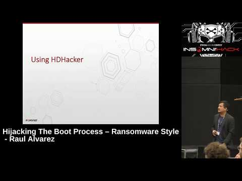 Hijacking the Boot Process, Ransomware Style - Raul Alvarez, Fortinet