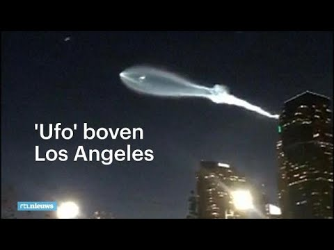 Verbazing in Los Angeles om 'ufo' - RTL...