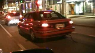 Toyota corolla turbo fart can AWESOME SOUND. Finland vaasa