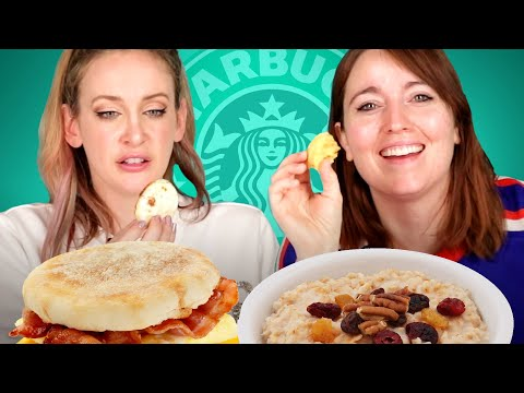 We Tried Every Breakfast Item From Starbucks