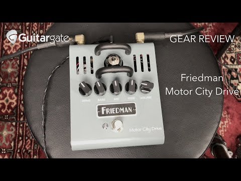 Friedman Motor City Drive | Guitar Pedal REVEW